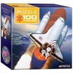 Eurographics-8104-0678 Mini Puzzle - Space Shuttle Atlantis