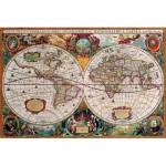 Eurographics-8220-1997 Antique World Map