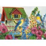 Eurographics-8300-0603 Grende - Cottage d'oiseaux en campagne