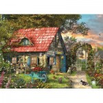 Eurographics-8300-0971 Pièces XXL - Family Puzzle: Dominic Davison - The Country Shed