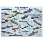 Eurographics-8500-0133 Bateaux de guerre de la seconde guerre mondiale