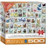 Eurographics-8500-5356 Pièces XXL - Timbres Vintage Papillons
