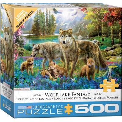 Eurographics-8500-5360 Pièces XXL - Wolf Lake Fantasy