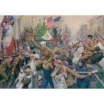 Jumbo-11061 Fortunino Matania : Armistice Celebrations