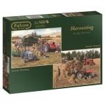 Jumbo-11124 2 Puzzles - Harvesting
