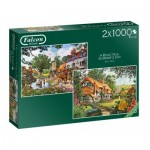 Jumbo-11248 2 Puzzles - Beautiful Summer's Day