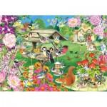 Jumbo-11253 Summer Garden Birds