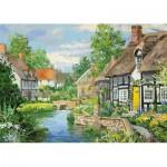 Jumbo-11289 2 Puzzles - Riverside Cottages