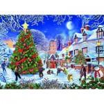 Gibsons-G3526 Pièces XXL - Steve Crisp - The Village Christmas Tree