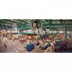 Gibsons-G4032 Terence Cuneo: Under the Clock