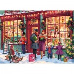 Gibsons-G6252 Christmas Toy Shop