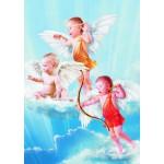 Gold-Puzzle-60072 Les Trois Petits Anges