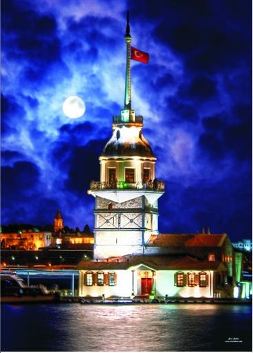 Gold-Puzzle-60126 Tour Maiden - Tour de Léandre, Istanbul, Turquie