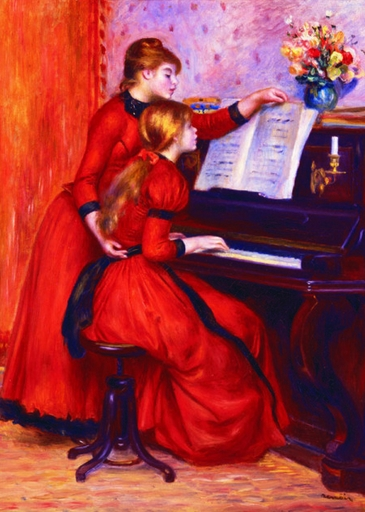 Gold-Puzzle-60232 Renoir Auguste : Jeunes Filles au Piano