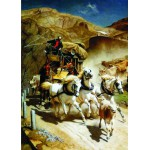 Gold-Puzzle-60379 John Rudolf Koller: The Gotthardpost