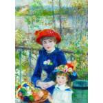 Gold-Puzzle-60386 Renoir Auguste: Deux Soeurs sur la Terrasse
