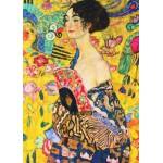 Gold-Puzzle-60522 Klimt Gustav : La Dame à l'Eventail