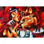 Gold-Puzzle-60546 Jazz en Duo
