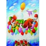 Gold-Puzzle-60577 Yuri Macik: Rêve de Clown