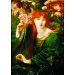 Gold-Puzzle-60584 Dante Gabriel Rossetti: La Ghirlandata