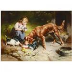 Gold-Puzzle-60713 Carl Reichert: Repas du soir