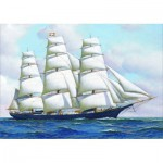 Gold-Puzzle-60775 Antonio Jacobsen: Clipper Ship