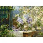 Gold-Puzzle-60805 Marie Egner : Floraison de la Tonnelle