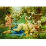Gold-Puzzle-60874 Joseph Bernard: Venus et Cupidon