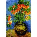 Gold-Puzzle-60911 Van Gogh: Fritillaires dans un Vase en Cuivre