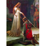 Gold-Puzzle-60959 Leighton Edmund Blair : The Accolade