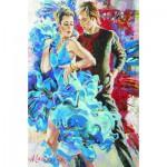 Gold-Puzzle-61024 Danse en Bleu
