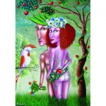 Gold-Puzzle-61369 Adam et Eve
