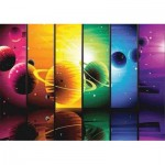 Gold-Puzzle-61444 Planets Illustration
