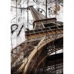 Gold-Puzzle-61451 Tour Eiffel Vintage