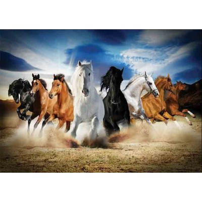 Gold-Puzzle-61468 Full Speed Gallop