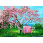 Gold-Puzzle-61499 Spring in Plum Garden