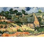Grafika-Kids-00009 Vincent Van Gogh : Les chaumes de Cordeville, 1890
