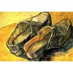 Grafika-Kids-00013 Pièces XXL - Vincent Van Gogh : Une Paire de Sabots en Cuir, 1888