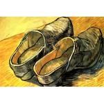 Grafika-Kids-00015 Vincent Van Gogh : Une Paire de Sabots en Cuir, 1888