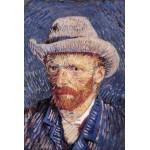 Grafika-Kids-00021 Vincent Van Gogh : Autoportrait, 1887-1888