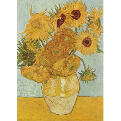 Grafika-Kids-00032 Van Gogh Vincent : Vase avec douze tournesols, 1888
