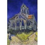 Grafika-Kids-00036 Vincent Van Gogh : L'église d'Auvers-sur-Oise, 1890