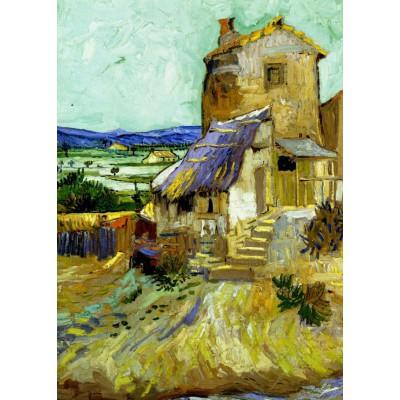 Grafika-Kids-00044 Vincent Van Gogh : Le Vieux Moulin, 1888