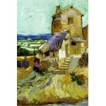 Grafika-Kids-00045 Vincent Van Gogh : Le Vieux Moulin, 1888