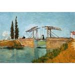Grafika-Kids-00046 Pièces XXL - Van Gogh Vincent : Pont de Langlois en Arles, 1888