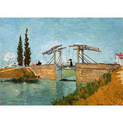 Grafika-Kids-00047 Van Gogh Vincent : Pont de Langlois en Arles, 1888