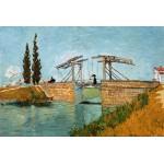 Grafika-Kids-00048 Van Gogh Vincent : Pont de Langlois en Arles, 1888