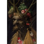 Grafika-Kids-00051 Arcimboldo Giuseppe : Quatre Saisons en Une Tête, 1590