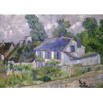 Grafika-Kids-00065 Van Gogh Vincent : Maison à Auvers, 1890