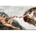 Grafika-Kids-00074 Michel Ange : La Création d'Adam de la chapelle Sixtine, 1508-1512